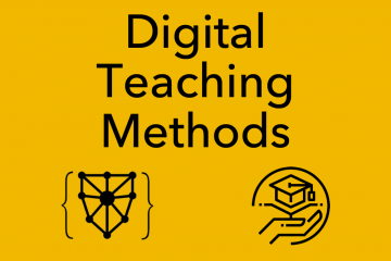 Foundations Seminar: Digital Teaching Methods, January 15-16, 2020
